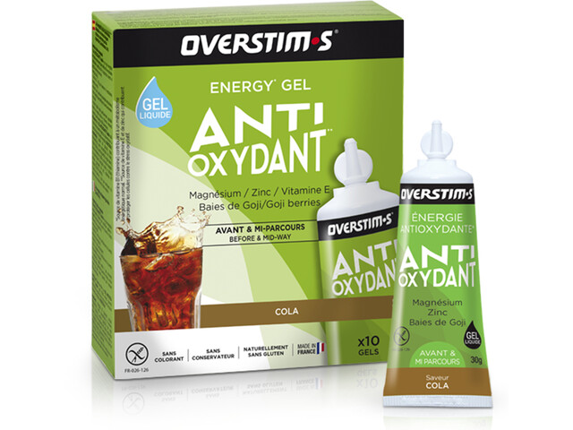 OVERSTIM.s Antioxydant Liquid Gel Box 10x30g, Cola